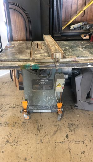 Table saw Delta for Sale in Whittier, CA