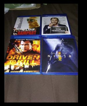Dvd's / Blu ray's NEED GONE TODAY for Sale in Bluffton, IN