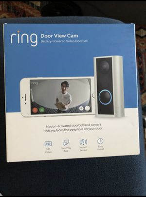 Ring Door View Cam/Peephole Cam Brand New for Sale in Los Angeles, CA