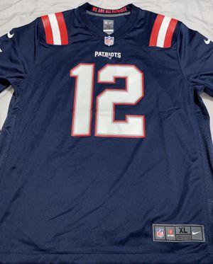 Tom Brady #12 NFL New England Patriots Nike Jersey XL for Sale in Miami, FL