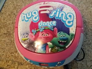 Trolls Radio Cd Player for Sale in Tampa, FL