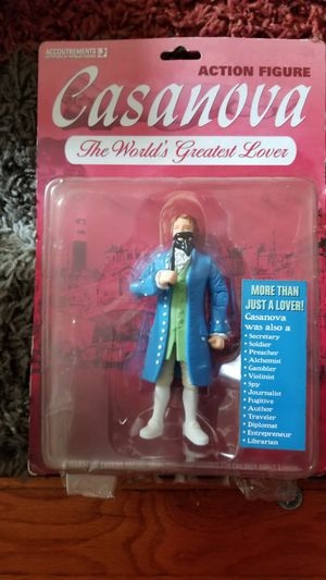 Casanova Action Figure 2005 Unopened Pack for Sale in Baltimore, MD