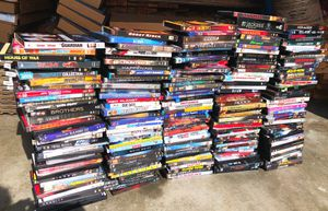 Movies- roughly around 200 in this lot $50 OBO for Sale in Everett, WA