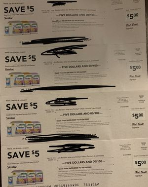 Similac coupons. Free! You pick up!! for Sale in Sacramento, CA