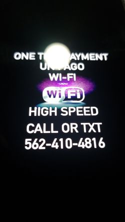 Super high speed. In great excellent condition like new Modem with Internet and Router for wifi open box in great condition Wi-fi for Sale in Long Beach,  CA