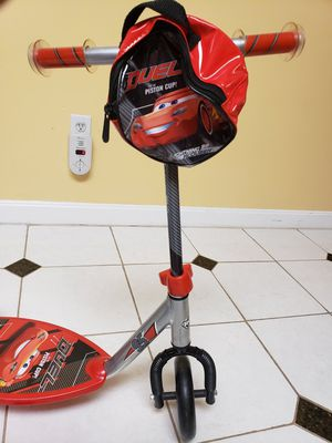Huffy three wheel preschool scooter Disney Pixar Cars for Sale in Chelmsford, MA