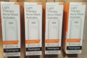 Neutrogena Light Therapy Acne Face Mask Activator for Sale in West Valley City, UT