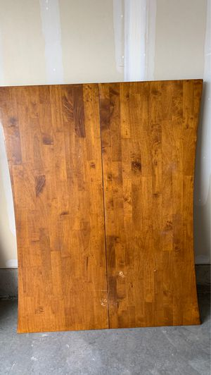 Large square wooden table with 4 chairs for Sale in Holladay, UT