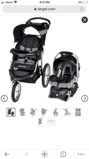 Barely used stroller base and car seat for Sale in Deltona, FL