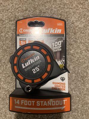 Lufkin L1125 25' Shockforce Tape Measure for Sale in Chandler, AZ