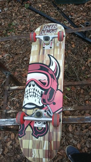 Speed demon skateboard for Sale in Fort Smith, AR