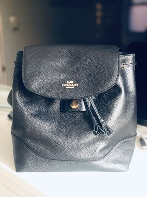 New backpack coach in black for Sale in Anaheim, CA