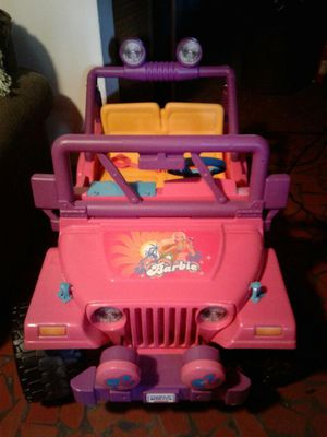 Toy Barbie Jeep for Sale in Norfolk, VA
