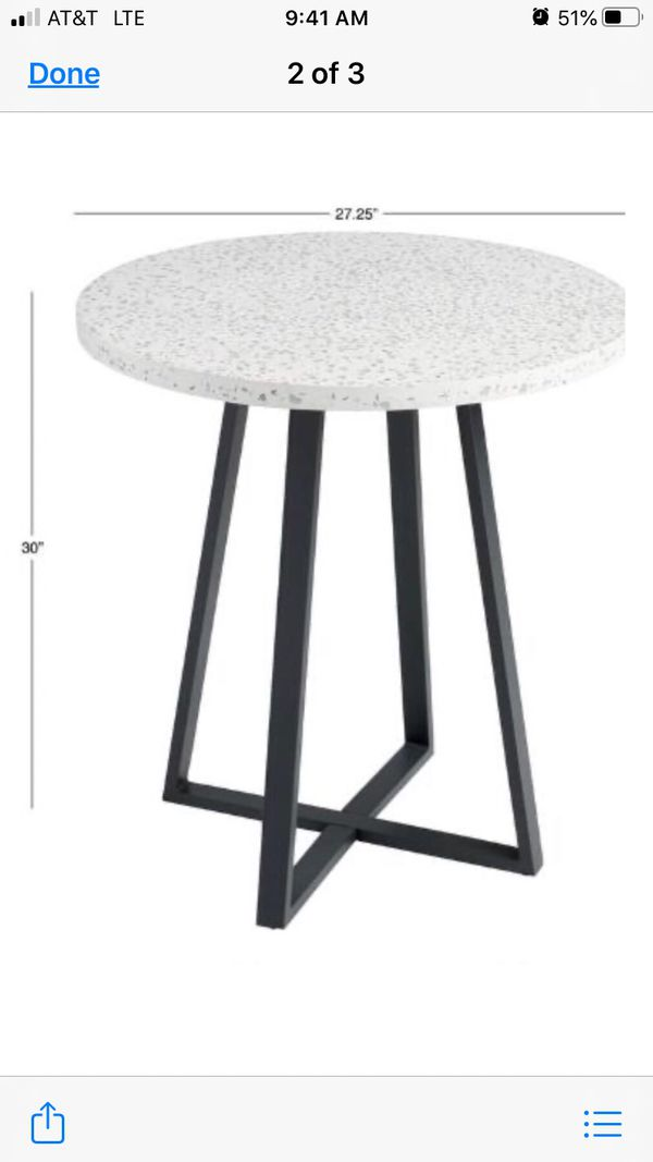 New small kitchen table from World Market
