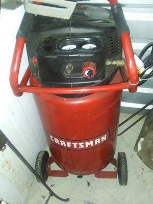 Craftsman 20 gallon air compressor for Sale in Jackson, MS