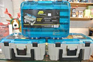 Plano Fishing Magnum Satchel Two-Tier Fishing Tackle Box for Sale in Mesa, AZ
