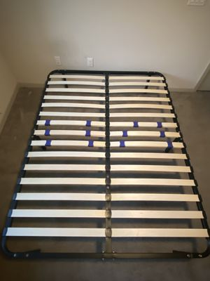 Platform Bed Frame / Box Spring Replacement Queen for Sale in Phoenix, AZ