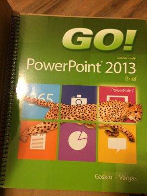 Go! Power point 2013 ( with access code) for Sale in Pittsburgh, PA