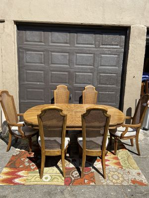 Dining Table with 6 Chairs for Sale in Commerce, CA
