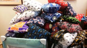 NFL am college pillows from 25.00 to 5.00 for Sale in Knoxville, TN