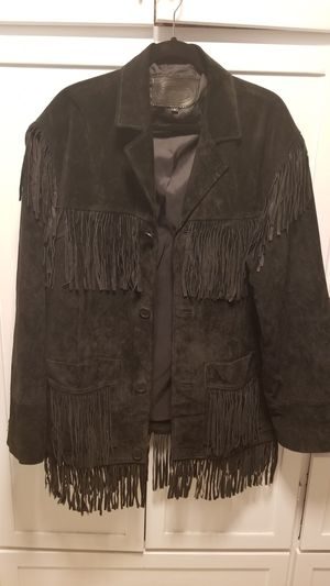 Men's XL Suede Fringed Coat for Sale in Lexington, NC