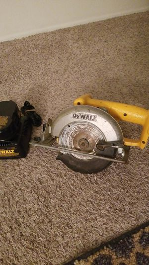 DEWALT 18V Saw & Battery Pack. Open to Offers for Sale in San Diego, CA