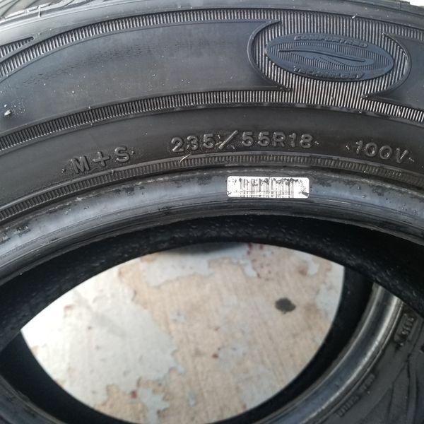 PLEASE READ Goodyear assurance tires 235/55r/18
