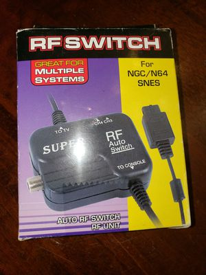 Nintendo n64 and SNES system RF switch for Sale in Fontana, CA
