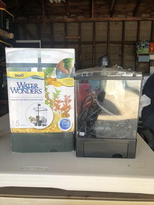 Terra Water Wonders Complete Aquarium Ensemble - 1.5 gal for Sale in Rosemead, CA