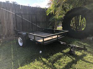 Utility trailer, 4 x 6 for Sale in Miami, FL