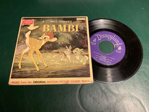 Walt Disney's Bambi Record for Sale in Los Angeles, CA