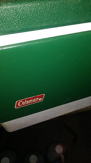 Vintage Coleman camping cooler for Sale in Philadelphia, PA