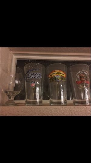 Collectible beer glasses! for Sale in Chandler, AZ