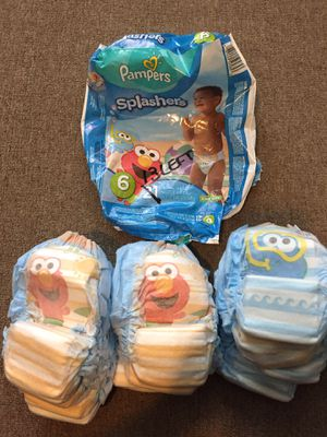 swimming diapers size 6 (qty 13) for Sale in Marlborough, MA