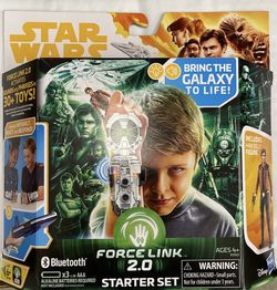 Star Wars Force Link 2.0 Starter Set with Han Solo Figure and Force Link Wearable Technology for Sale in Moxee,  WA