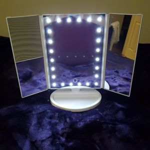 LED Lighted Vanity Adjustable Makeup Mirror for Sale in Duluth, GA