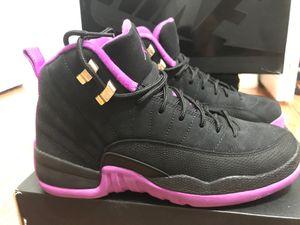 "Air Jordan 12 retro GG ""hyper violet"" size 6.5 for Sale in Palm Beach, FL"