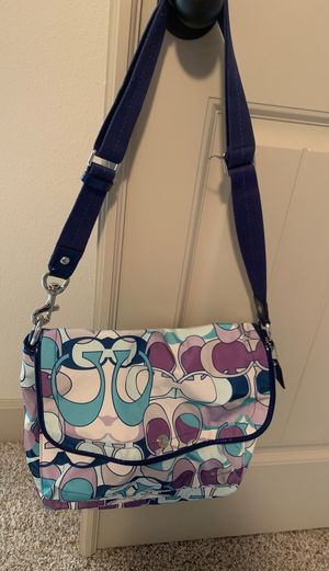 Coach messenger bag for Sale in Boring, OR