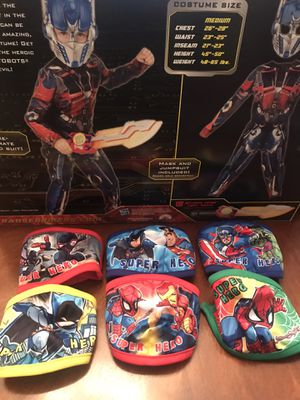 Kid Masks fit 6-12 year old for Sale in Fenton, MO