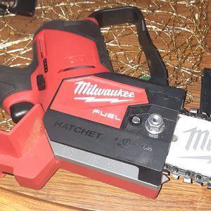 M12 Milwaukee hatchet Brushless Mini Chainsaw for Sale in Phoenix, AZ
