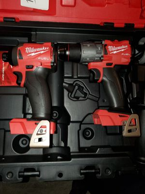 2 for the price of 1!!!!!!!!Milwaukee m18 fuel impact 3 speed and hammer drill BRAND NEW TOOLS ONLY SIN PILAS NI CARGADOR for Sale in North Las Vegas, NV