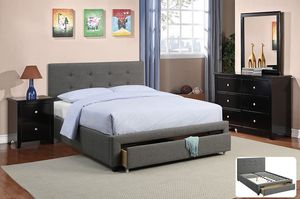 New queen size bed frame and mattress for Sale in Irvine, CA