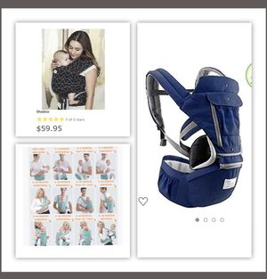Baby wrap and baby carrier for sale for Sale in Houston, TX