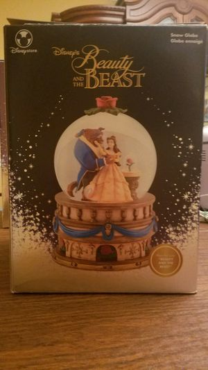 Disney's beauty and the beast snow globe for Sale in East Greenwich, RI