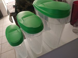 3 piece food storage for Sale in Elgin, IL