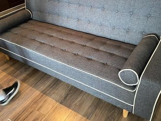 Grey Mid Century Sofa Bed for Sale in Fresno,  CA