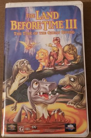 The Land Before Time 3 vhs movie for Sale in Three Rivers, MI