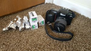 Nikon f50 Film Camera with 400 speed film for Sale in Elyria, OH
