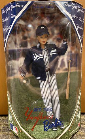 1999 MLB Yankees Barbie for Sale in Douglasville, GA