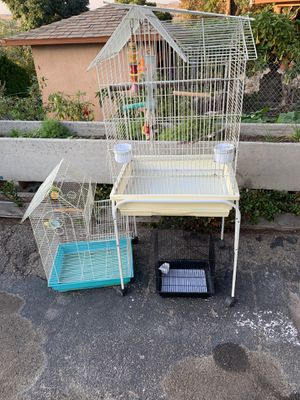 3 bird cages for Sale in LAKE MATHEWS, CA